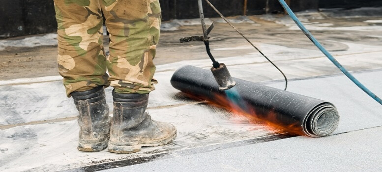 bitumen branden